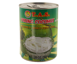 TAS Young Coconut Meat in Syrup 565g